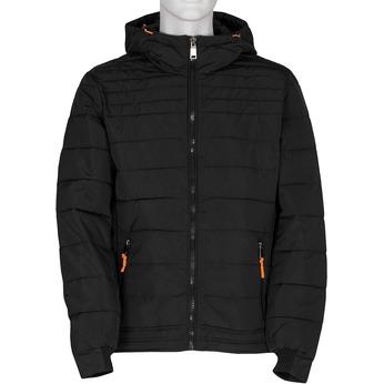 Czarna pikowana kurtka męska bata, czarny, 979-6430 - 13