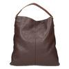Skórzana torba damska wstylu hobo bata, brązowy, 964-4236 - 26