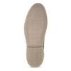 Szare skórzane obuwie męskie typu desert boots bata, szary, 823-8655 - 18