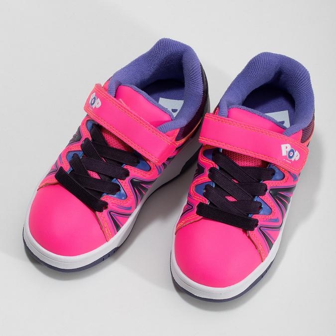 Różowe butorolki dziecięce pop-by-heelys, różowy, 321-5411 - 16