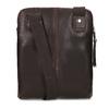 Skórzana torba typu crossbody bata, brązowy, 964-4237 - 16