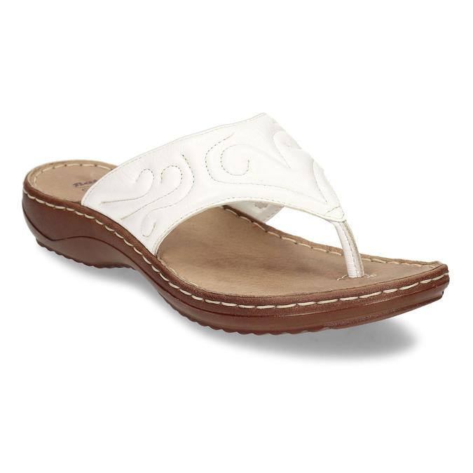 5661600 bata, biały, 566-1600 - 13