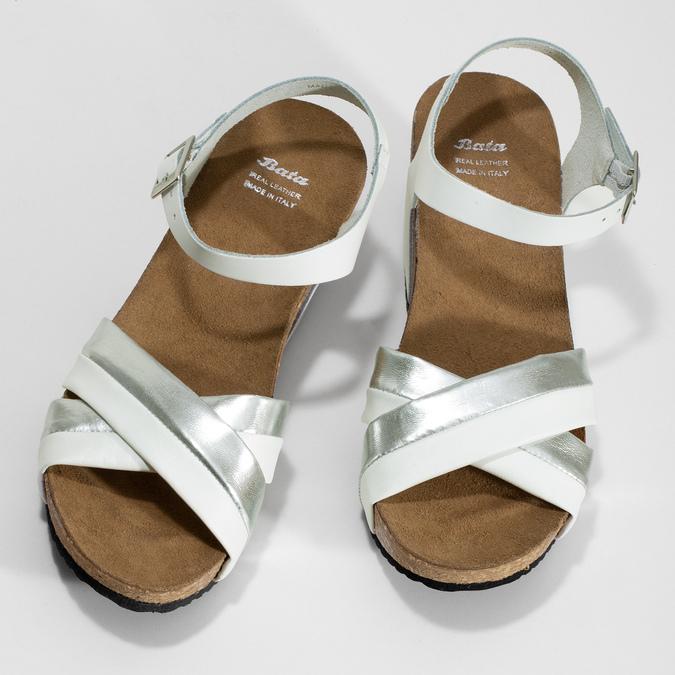 6641608 bata, biały, 664-1608 - 16