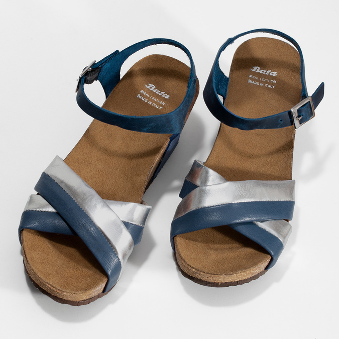 6649608 bata, niebieski, 664-9608 - 16