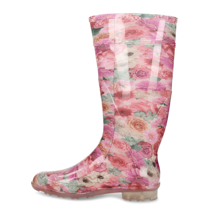 5920621 bata, różowy, 592-0621 - 17