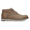 Skórzane buty za kostkę na kontrastowej podeszwie weinbrenner, brązowy, 846-4658 - 19
