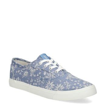 Błękitne trampki wkwiaty north-star, niebieski, 589-9502 - 13