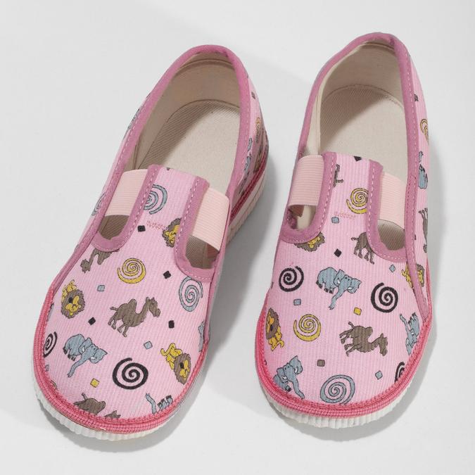 3795616 bata, różowy, 379-5616 - 16
