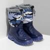 Granatowe śniegowce wdeseń moro mini-b, niebieski, 292-9301 - 26