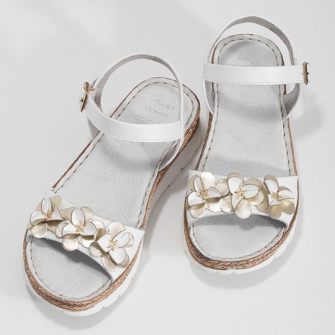6641601 bata, biały, 664-1601 - 16