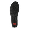 Skórzane botki damskie comfit, czarny, 594-6707 - 18