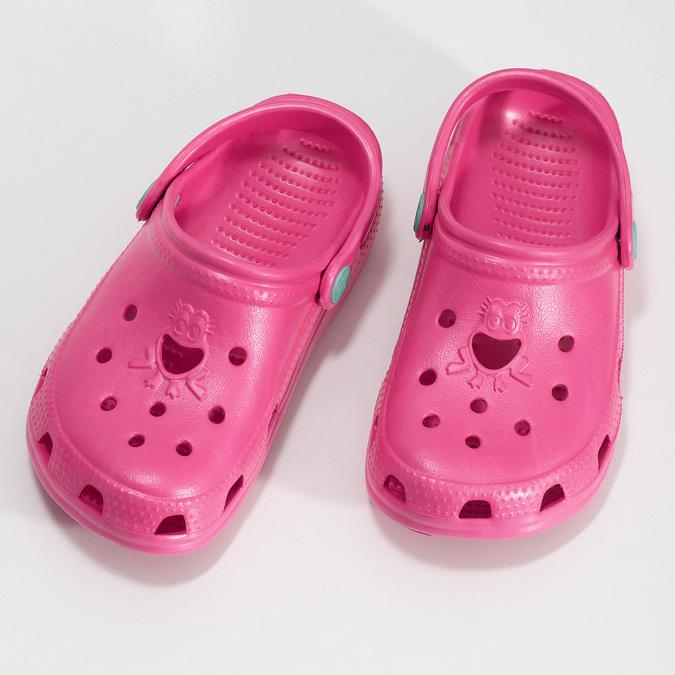 Różowe sandały dziewczęce coqui, różowy, 372-5604 - 16
